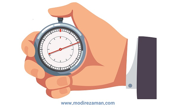 سه سوال درباره مدیریت زمان