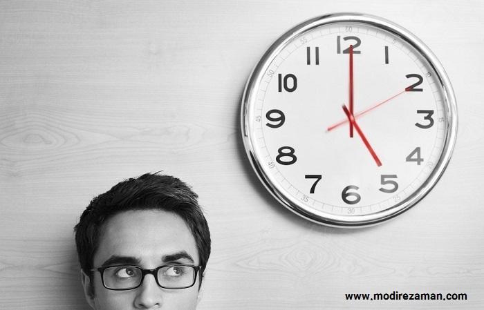 مدیریت خود قبل از مدیریت زمان
