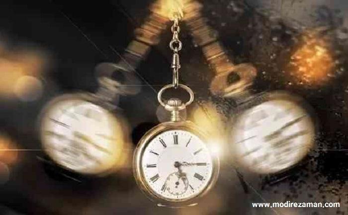 مدیریت زمان و مفهوم فضا زمان در نظریه نسبیت آلبرت انیشتین: گذشته، حال، آینده